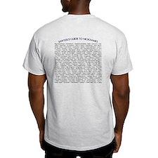 Sawyer's Guide to Nicknames T-Shirt