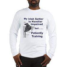 Irish Setter Agility Long Sleeve T-Shirt