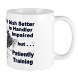 Irish Setter Agility Small Mug