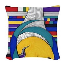 Lost in Translation Woven Throw Pillow