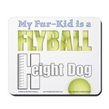 Fur Kid Height Dog Mousepad