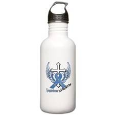 Lymphedema - On A Wing And A Prayer Water Bottle