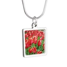Red Tulips Necklaces