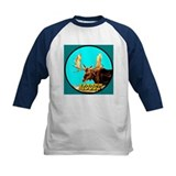 Turquoise Moose Tee
