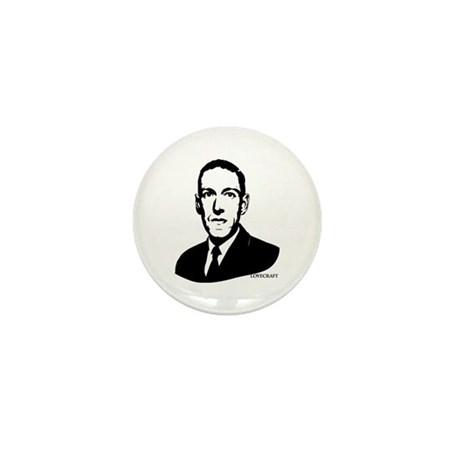 Strk3 H.P. Lovecraft Mini Button