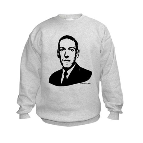 Strk3 H.P. Lovecraft Kids Sweatshirt