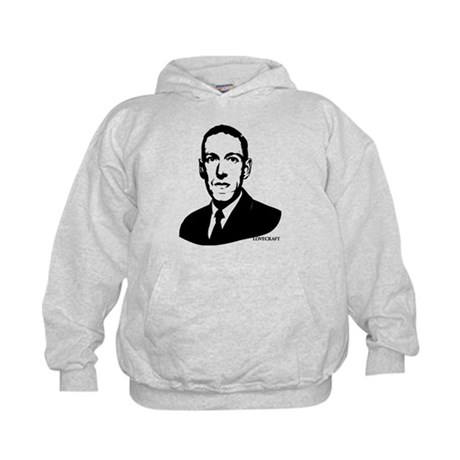 Strk3 H.P. Lovecraft Kids Hoodie