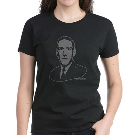 Strk3 H.P. Lovecraft Womens T-Shirt