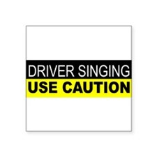 Driver Singing Sticker