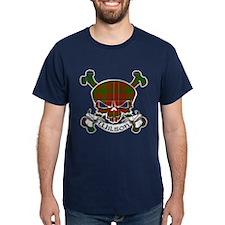Wilson Tartan Skull T-Shirt