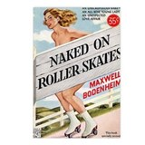 Naked on Roller Skates Postcards (Package of 8)