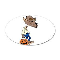 werewolf trick ot treat. Wall Decal