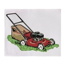 Lawnmower Throw Blanket