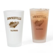 Downieville California Drinking Glass