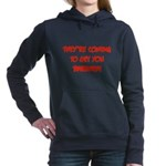 barbara2.png Women's Hooded Sweatshirt