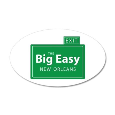 The Big Easy New Orleans Wall Decal