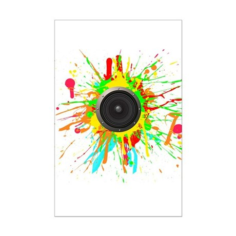 See The Music! Mini Poster Print