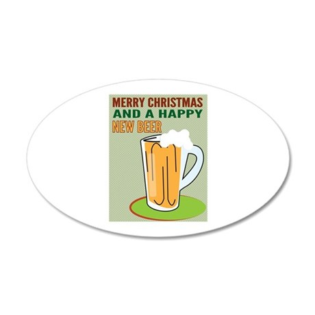 Happy New Beer Wall Decal