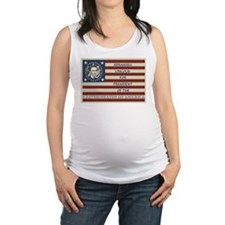 Vote for President Maternity Tank Top