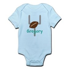 Personalized Football Goal Body Suit