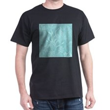 Blue Undersea Coral Shells T-Shirt