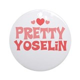 Yoselin Ornament (Round)