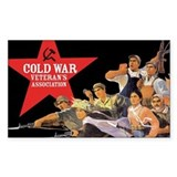 Cold War Veteran's Assn. Rectangle Decal