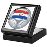 Croatia Football Keepsake Box