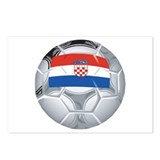 Croatia Football Postcards (Package of 8)