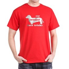 Wiener Tricks Red T-Shirt
