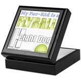 Fur Kid Height Dog Keepsake Box