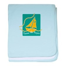 Know The Ropes baby blanket