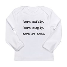 Cute Homebirth Long Sleeve Infant T-Shirt