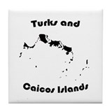 Turks and Caicos Tile Coaster