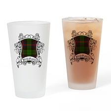 Urquhart Tartan Shield Drinking Glass