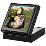 Mona's Fawn Pug (#2) Keepsake Box