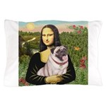 Mona's Fawn Pug (#2) Pillow Case