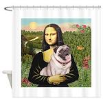 Mona's Fawn Pug (#2) Shower Curtain