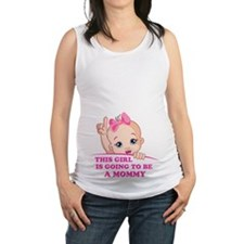 Cute Baby girl Maternity Tank Top