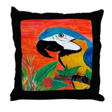 Cute Coastal art Throw Pillow