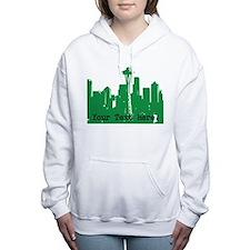 Seattle Skyline Women's Hooded Sweatshirt