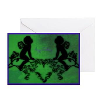 Happy Birthday Fairies Greeting Cards (10 Pk)