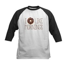 I Donut Like Mornings Baseball Jersey