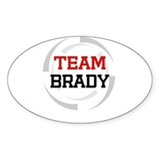 Brady Oval Decal
