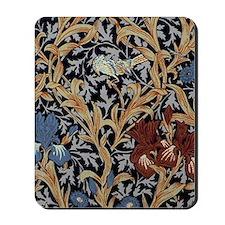William Morris Iris Pattern Mousepad