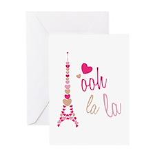 Ooh La La Greeting Cards