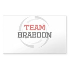 Braedon Rectangle Decal