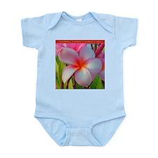 Plumeria Blossom Infant Bodysuit