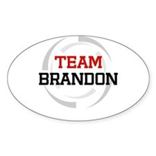 Brandon Oval Decal