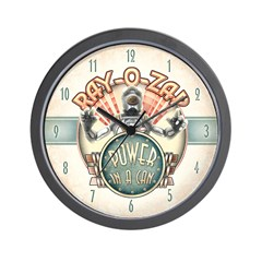 Ray-O-Zap Robot Wall Clock